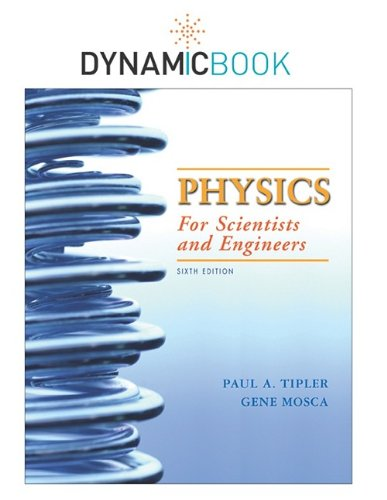 Physics for Scientists and Engineers Dynamic Book N/A 9781429246439 Front Cover