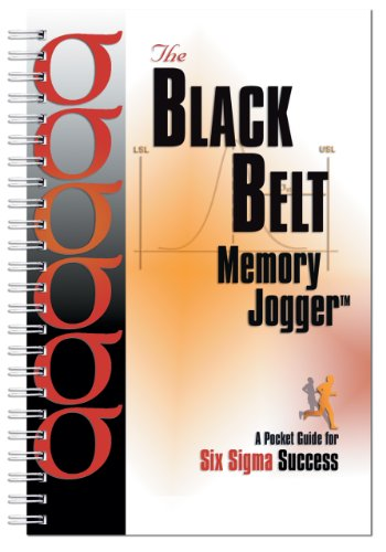 Black Belt Memory Jogger A Pocket Guide for Six Sigma Success  2002 edition cover