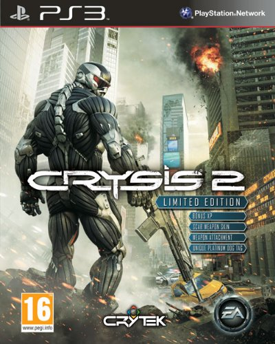 Crysis 2 - Limited Edition (PS3) by Electronic Arts PlayStation 3 artwork