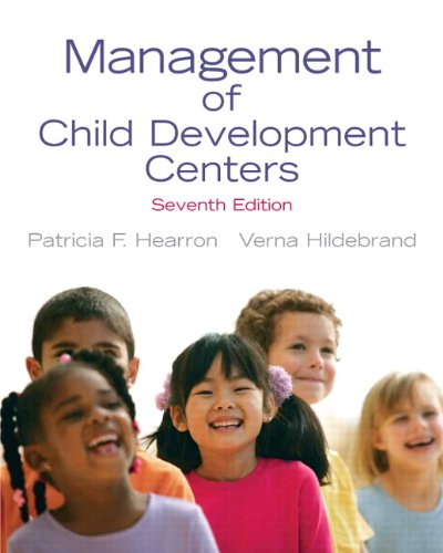 Management of Child Development Centers  7th 2011 edition cover