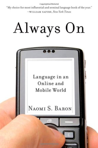 Always On Language in an Online and Mobile World  2010 edition cover
