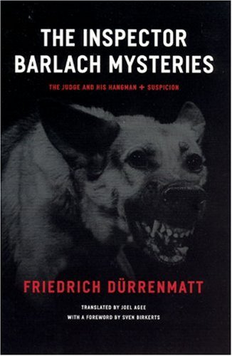 Inspector Barlach Mysteries The Judge and His Hangman and Suspicion  2006 edition cover