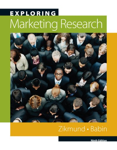 Exploring Marketing Research  10th 2010 edition cover