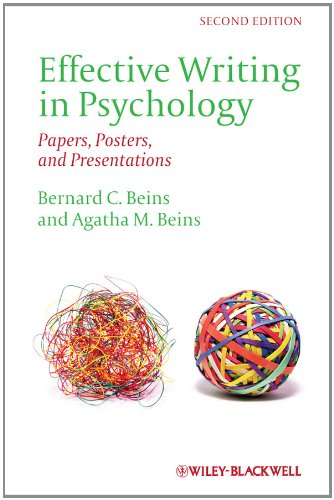 Effective Writing in Psychology Papers, Posters, and Presentations 2nd 2012 edition cover