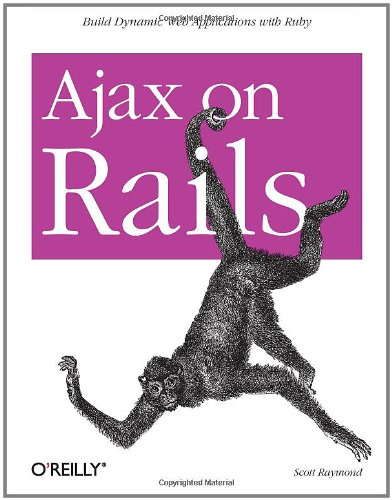 Ajax on Rails   2006 9780596527440 Front Cover
