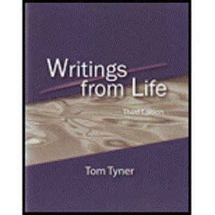 WRITINGS FROM LIFE             N/A edition cover