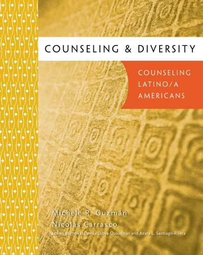 Counseling and Diversity Counseling Latino/A Americans  2012 edition cover