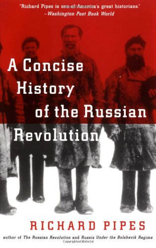 Concise History of the Russian Revolution   1996 edition cover