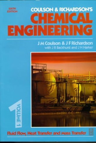 Chemical Engineering Fluid Flow, Heat Transfer and Mass Transfer 6th 1999 (Revised) edition cover