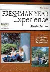 Freshman Year Experience Plan for Success 3rd (Revised) 9780757562440 Front Cover
