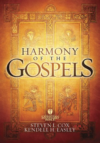 HCSB Harmony of the Gospels  N/A edition cover
