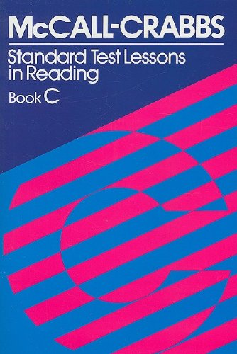 McCall Crabbs Standard Test Lessons in Reading 3rd edition cover