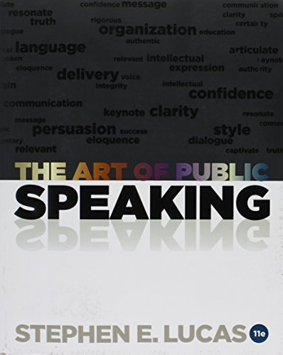Art of Public Speaking  11th 2012 9781259661440 Front Cover