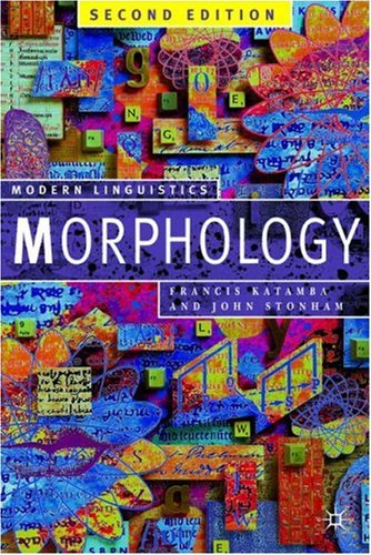 Morphology  2nd 2006 (Revised) edition cover