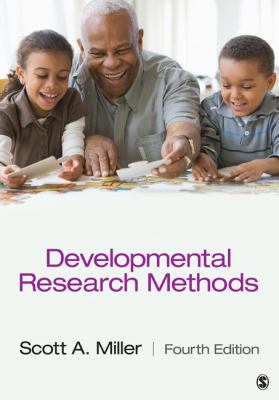Developmental Research Methods  4th 2013 edition cover