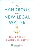 Handbook for the New Legal Writer   2014 edition cover