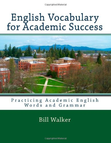 English Vocabulary for Academic Success  N/A edition cover