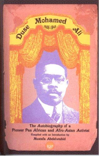 Dus� Mohamed Ali (1866-1945)   2011 9781569023440 Front Cover