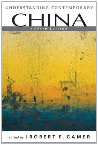Understanding Contemporary China  4th 2012 edition cover