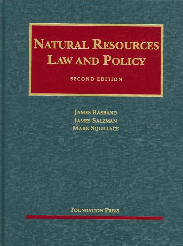 Natural Resources Law and Policy, 2d Edition  2nd 2009 (Revised) edition cover