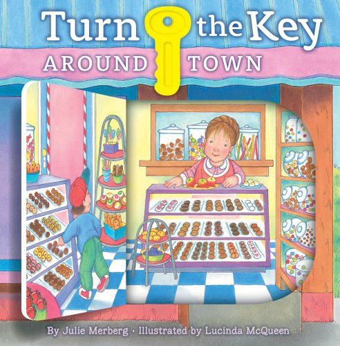 Turn the Key: Around Town Look and See! N/A 9781935703440 Front Cover