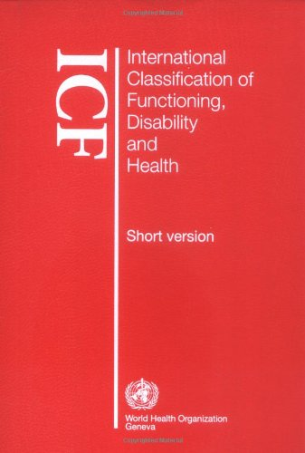 International Classification of Functioning, Disability and Health   2001 edition cover