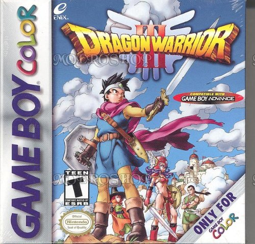 Dragon Warrior III - GameBoy Color Game Boy Color artwork
