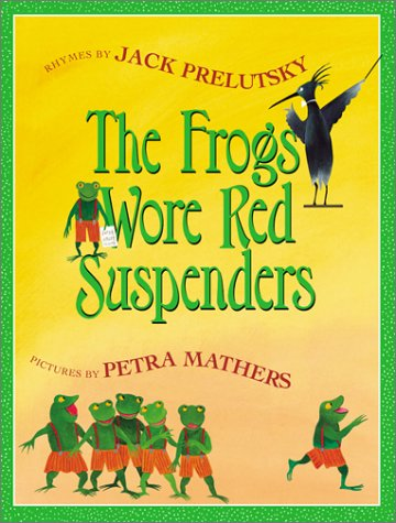 Frogs Wore Red Suspenders Unabridged 9780060012441 Front Cover