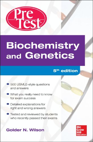 Biochemistry and Genetics  5th 2013 edition cover