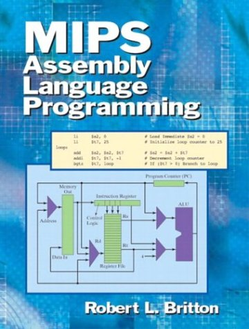 MIPS Assembly Language Programming   2004 edition cover