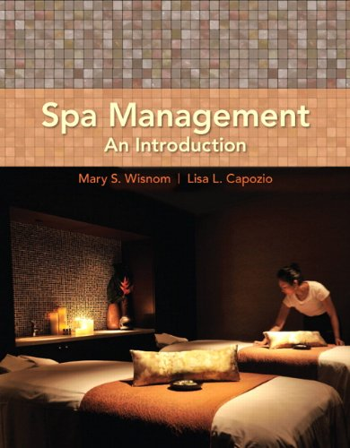 Spa Management An Introduction  2012 (Revised) edition cover