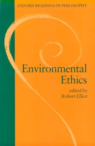 Environmental Ethics   1995 edition cover