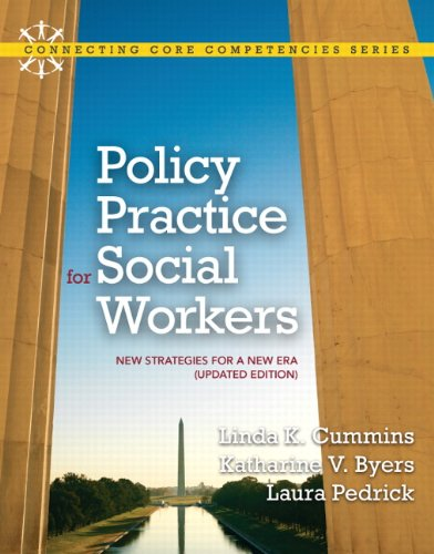 Policy Practice for Social Workers New Strategies for a New ERA  2011 (Revised) edition cover
