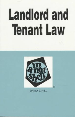 Landlord and Tenant Law in a Nutshell 3rd 1995 9780314047441 Front Cover