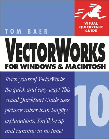 VectorWorks 10 for Windows and Macintosh   2003 9780321159441 Front Cover