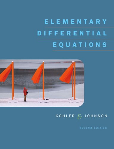 Elementary Differential Equations  2nd 2006 edition cover