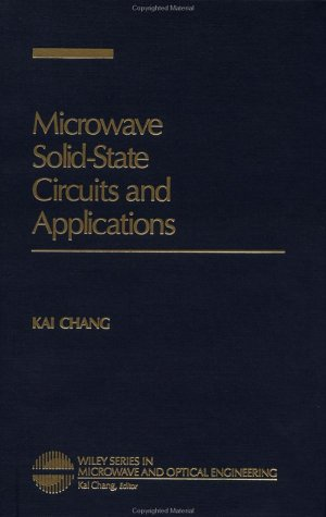 Microwave Solid-State Circuits and Applications  1st 1994 edition cover