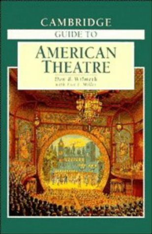 Cambridge Guide to American Theatre  2nd 1996 edition cover