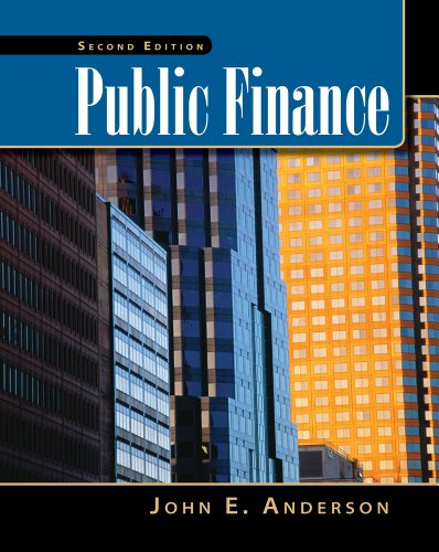 Public Finance  2nd 2012 (Revised) 9780538478441 Front Cover