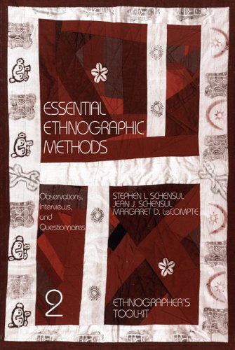 Essential Ethnographic Methods Observations, Interviews, and Questionnaires  1999 edition cover