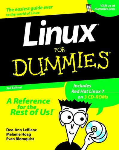 Linux for Dummies  3rd 2001 9780764507441 Front Cover