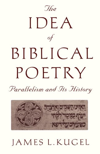 Idea of Biblical Poetry Parallelism and Its History Reprint edition cover