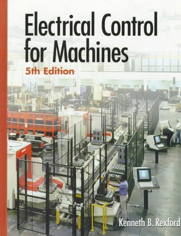 Electrical Control for Machines  5th 1997 edition cover