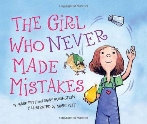 Girl Who Never Made Mistakes   2011 9781402255441 Front Cover