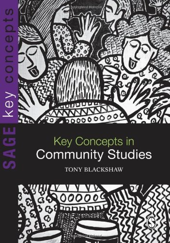 Key Concepts in Community Studies   2010 edition cover