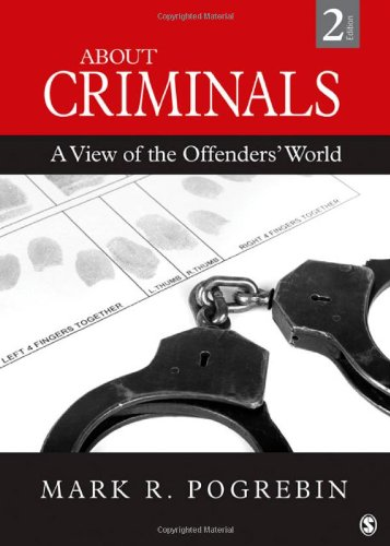 About Criminals A View of the Offenders' World 2nd 2012 edition cover