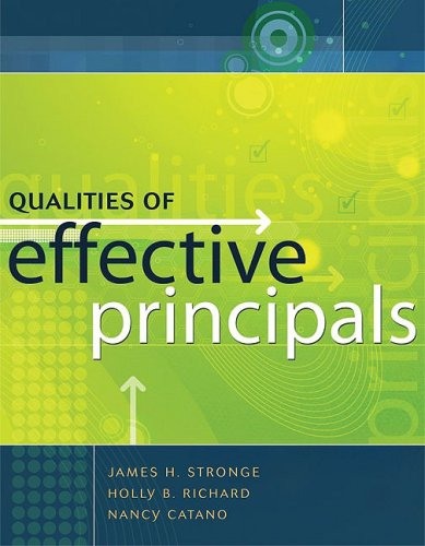 Qualities of Effective Principals   2008 edition cover