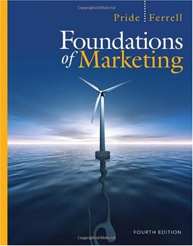 Foundations of Marketing  4th 2011 edition cover