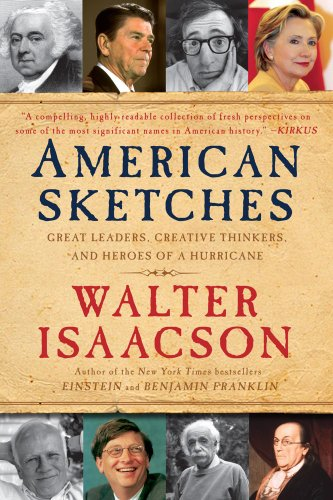 American Sketches Great Leaders, Creative Thinkers, and Heroes of a Hurricane  2009 edition cover
