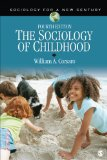 Sociology of Childhood  4th 2014 edition cover